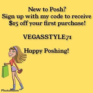 🌺NEW TO POSH? Use my code to save money!